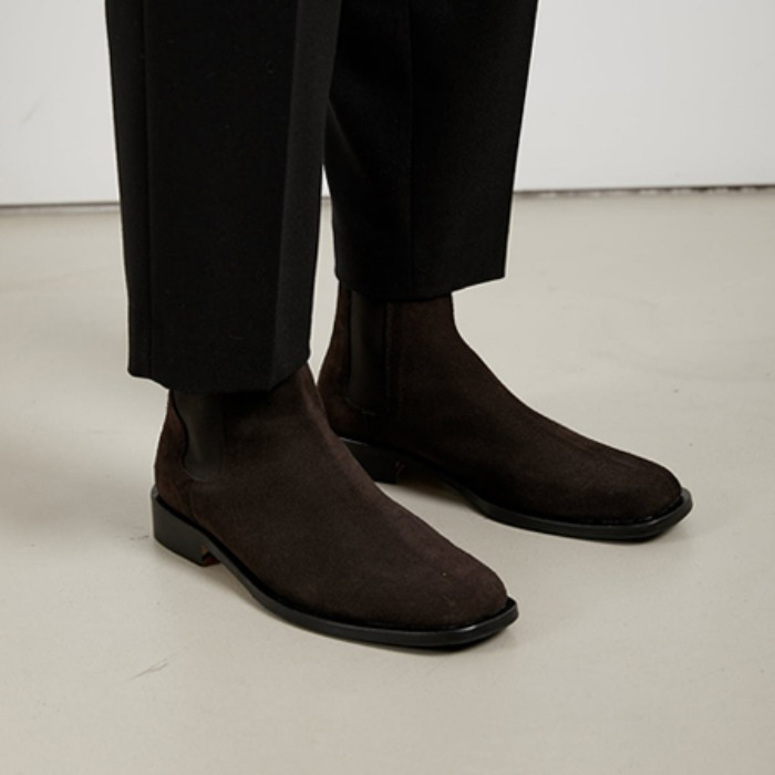 afterpray edition suede boots (brown)